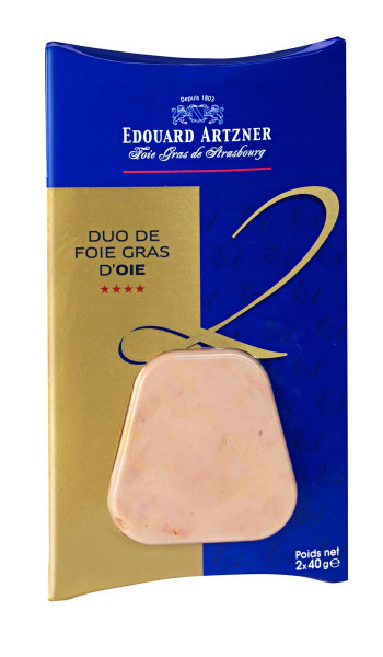 Duo Foie Gras - Gänseleber (2x40g)