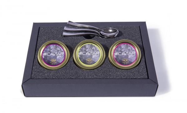 #caviarshot Set