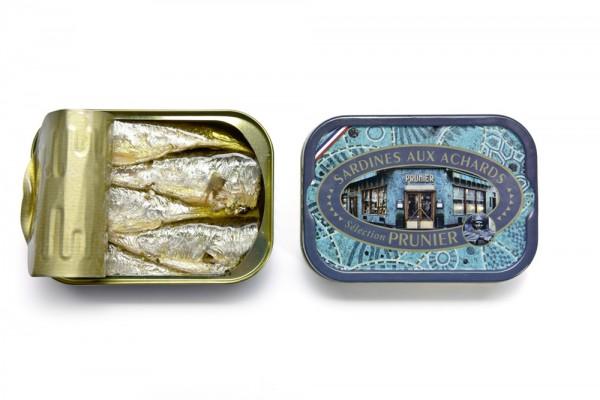 Prunier Sardinen in Olivenöl, pikant