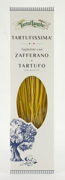 Tagliolini mit Safran und Trüffel