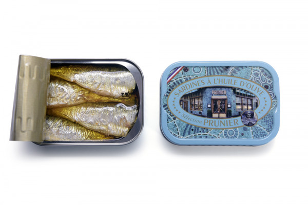 Prunier sardines in olive oil