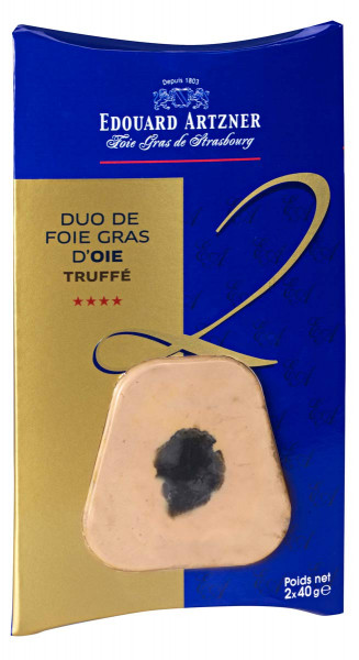 Duo Foie Gras - Gänseleber mit Trüffel (2x40g)