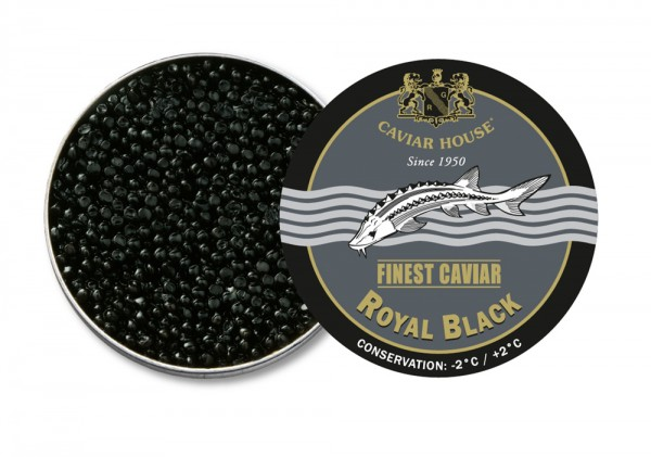 Caviar House Finest Caviar Royal Black Vakuumdose