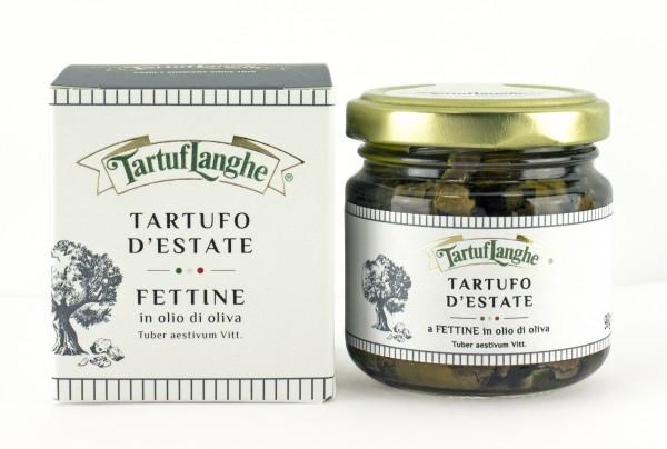 Lamelles de truffe d'été à l'huile d'olive